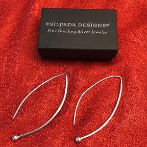 Silpada Sterling silver.925 earrings